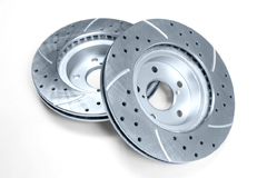 resurfacing cross drilled and slotted rotors