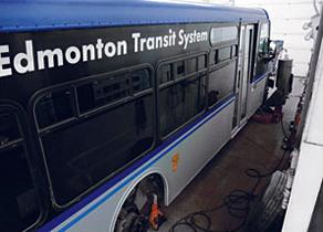 Brake Job on Transit Bus
