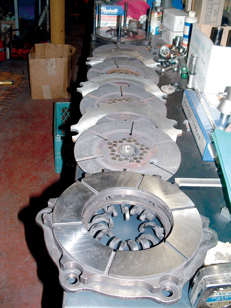 clutch plates machined
